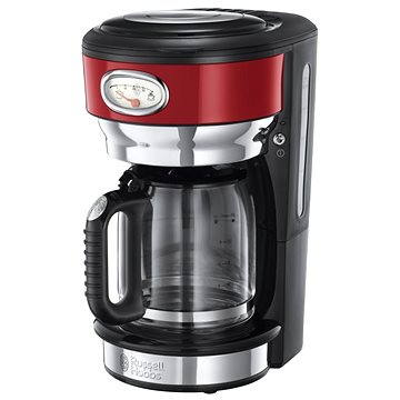 Russell Hobbs Retro Red Glass C/Maker 21700-56 (23376016001)