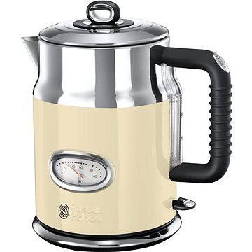 Russell Hobbs Retro Cream Kettle 21672-70 (23447016002)