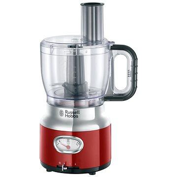 Russell Hobbs 25180-56 Retro Food Processor Red (23741026002)