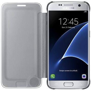 Samsung Clear View Cover EF-ZG930C Galaxy S7 stříbrné (EF-ZG930CSEGWW)