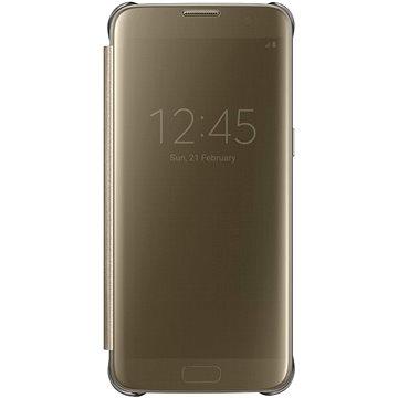 Samsung EF-ZG935C Clear View pro Galaxy S7 edge zlaté (EF-ZG935CFEGWW)