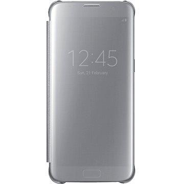 Samsung EF-ZG935C Clear View pro Galaxy S7 edge stříbrné (EF-ZG935CSEGWW)