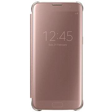 Samsung EF-ZG935C Clear View pro Galaxy S7 edge růžové (EF-ZG935CZEGWW)