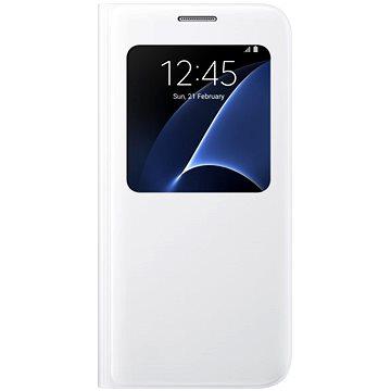 Samsung S-View EF-CG930P pro Galaxy S7 bílé (EF-CG930PWEGWW)