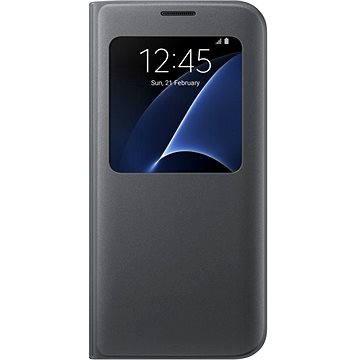 Samsung S-View Cover EF-CG935P pro Galaxy S7 edge černé (EF-CG935PBEGWW)