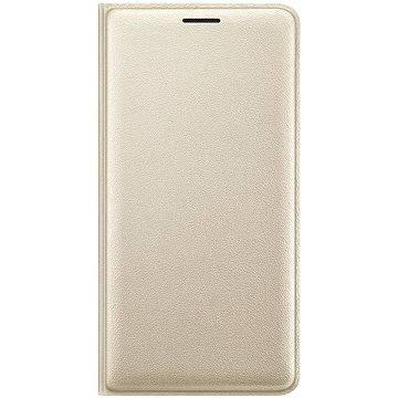 Samsung Flip Wallet Cover Galaxy J3 2016 EF-WJ320P zlaté (EF-WJ320PFEGWW)