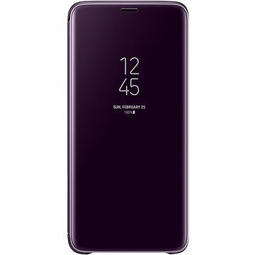 Samsung Galaxy S9+ Clear View Standing Cover fialové (EF-ZG965CVEGWW)
