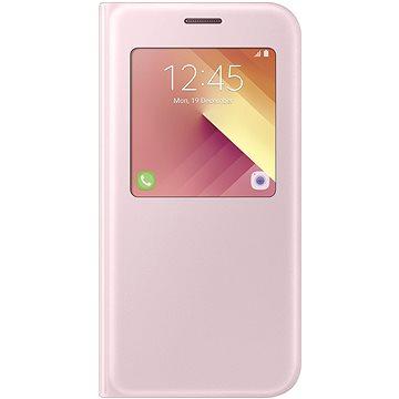 Samsung S-View Standing Cover Galaxy A5 (2017) EF-CA520P růžové (EF-CA520PPEGWW)