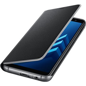 Samsung Neon Flip Cover Galaxy A8 (2018) EF-FA530P Black (EF-FA530PBEGWW)