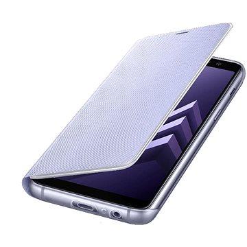 Samsung Neon Flip Cover Galaxy A8 (2018) EF-FA530P Violett (EF-FA530PVEGWW)