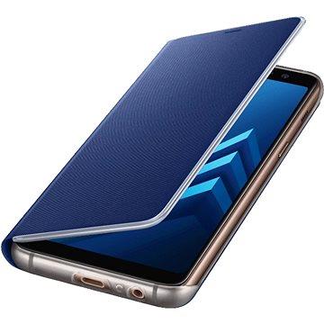 Samsung Neon Flip Cover Galaxy A8 (2018) EF-FA530P Blue (EF-FA530PLEGWW)