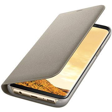 Samsung LED View Cover EF-NG955P Galaxy S8+ zlaté (EF-NG955PFEGWW)