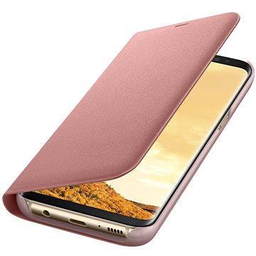 Samsung LED View Cover EF-NG955P Galaxy S8+ růžové (EF-NG955PPEGWW)