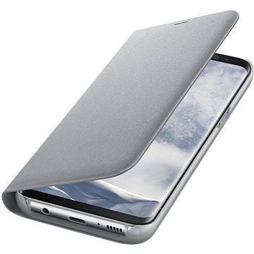 Samsung LED View Cover EF-NG955P Galaxy S8+ stříbrné (EF-NG955PSEGWW)