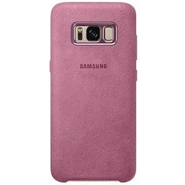 Samsung Alcantra Cover EF-XG955A pro Galaxy S8+ růžové (EF-XG955APEGWW)