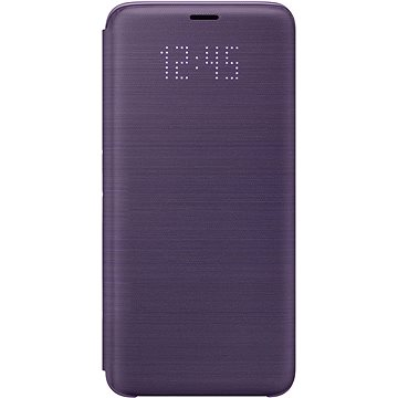 Samsung Galaxy S9 LED View Cover fialové (EF-NG960PVEGWW)