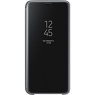 Samsung Galaxy S9 Clear View Standing Cover černé (EF-ZG960CBEGWW)