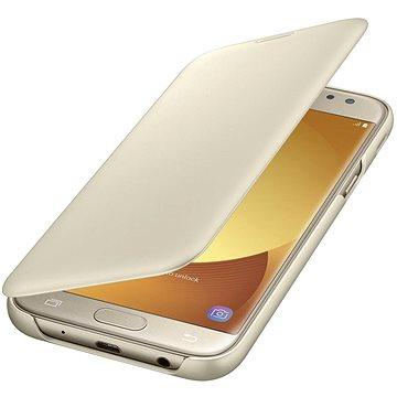 Samsung Wallet Cover Galaxy J5 (2017) EF-WJ530C zlaté (EF-WJ530CFEGWW)