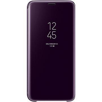 Samsung Galaxy S9 Clear View Standing Cover fialové (EF-ZG960CVEGWW)