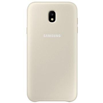 Samsung Dual Layer Cover EF-PJ330C Galaxy J3 (2017) zlatý (EF-PJ330CFEGWW)