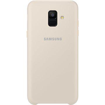 Samsung Galaxy A6 Dual Layer cover zlatý (EF-PA600CFEGWW)