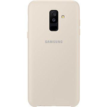 Samsung Galaxy A6+ Dual Layer cover zlatý (EF-PA605CFEGWW)