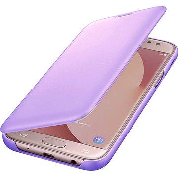 Samsung Galaxy J6 Wallet Cover levandulové (EF-WJ600CVEGWW)