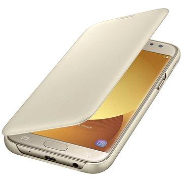 Samsung Galaxy J6 Wallet Cover zlaté (EF-WJ600CFEGWW)