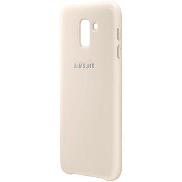 Samsung Galaxy J6 Dual Layer Cover zlatý (EF-PJ600CFEGWW)