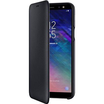 Samsung Galaxy A6 Wallet Cover černé (EF-WA600CBEGWW)