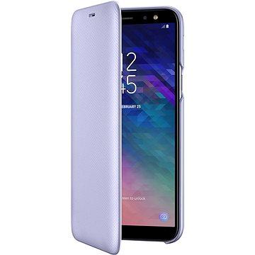 Samsung Galaxy A6 Wallet Cover levandulové (EF-WA600CVEGWW)