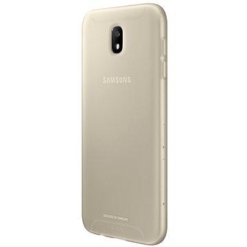Samsung Silicone Cover EF-AJ330T Galaxy J3 (2017) zlatý (EF-AJ330TFEGWW)