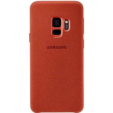 Samsung Galaxy S9 Alcantara Cover červený (EF-XG960AREGWW)