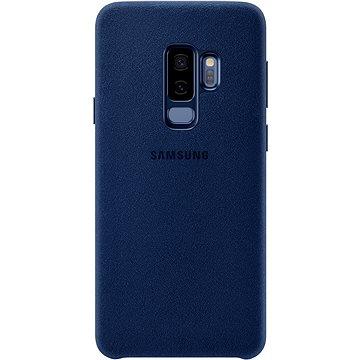 Samsung Galaxy S9+ Alcantara Cover modrý (EF-XG965ALEGWW)