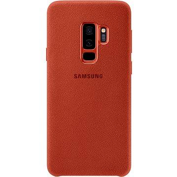 Samsung Galaxy S9+ Alcantara Cover červený (EF-XG965AREGWW)