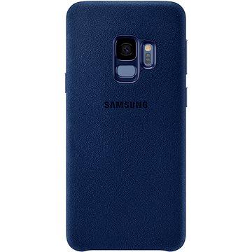 Samsung Galaxy S9 Alcantara Cover modrý (EF-XG960ALEGWW)