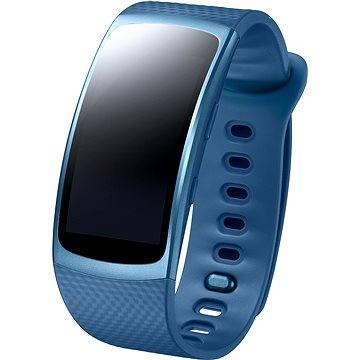 Chytré hodinky Samsung Gear Fit2 modré (SM-R3600ZBAXEZ)