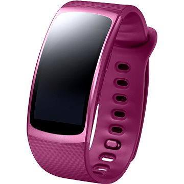 Chytré hodinky Samsung Gear Fit2 růžové (SM-R3600ZINXEZ)