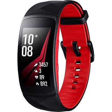 Chytré hodinky Samsung Gear Fit2 Pro Black Red (SM-R365NZRAXEZ)