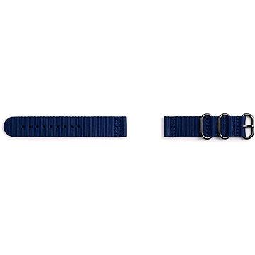 Řemínek Samsung Nato Strap Gear Sport Blue (GP-R600BREECAB)