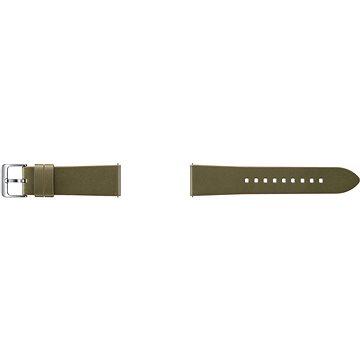 Řemínek Samsung Classic Leather Band Gear S3 ET-YSL76M Olive Green (ET-YSL76MGEGWW)