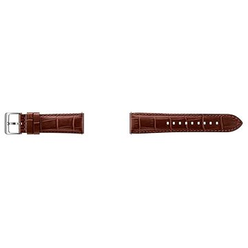 Řemínek Samsung Alligator Grain Leather Band Gear S3 ET-YSA76M Brown (ET-YSA76MDEGWW)