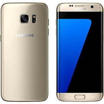 Samsung Galaxy S7 edge zlatý (SM-G935FZDAETL) + ZDARMA Kryt Samsung ET-CG935D černý Digitální předplatné Týden - roční