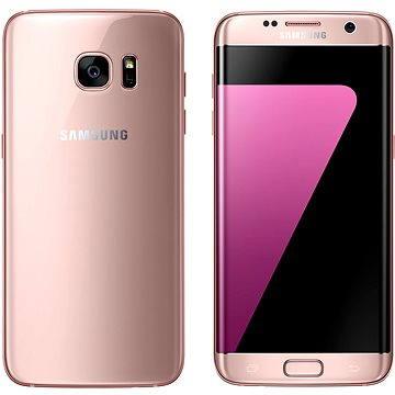 Samsung Galaxy S7 edge růžový (SM-G935FEDAETL) + ZDARMA Kryt Samsung ET-CG935D černý Digitální předplatné Týden - roční