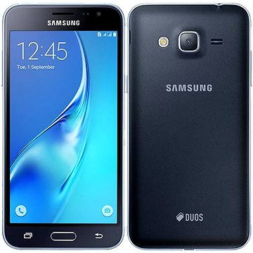 Samsung Galaxy J3 Duos (2016) černý (SM-J320FZKDETL) + ZDARMA Digitální předplatné Týden - roční