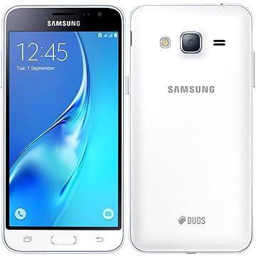 Samsung Galaxy J3 Duos (2016) bílý (SM-J320FZWDETL) + ZDARMA Digitální předplatné Týden - roční