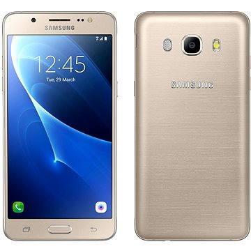 Samsung Galaxy J5 Duos (2016) zlatý (SM-J510FZDUETL) + ZDARMA Digitální předplatné Týden - roční Digitální předplatné Interview - SK - Roční předplatné