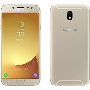Samsung Galaxy J7 Duos (2017) zlatý (SM-J730FZDDETL) + ZDARMA Digitální předplatné Interview - SK - Roční předplatné Digitální předplatné Týden - roční