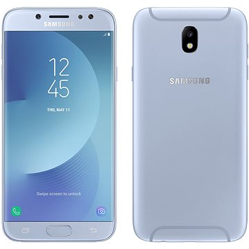 Samsung Galaxy J7 (2017) modrý (SM-J730FZSDETL) + ZDARMA Paměťová karta Samsung micro SDHC 32GB EVO Plus Class 10 UHS-I + SD adaptér