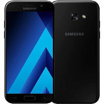 Samsung Galaxy A5 (2017) černý (SM-A520FZKAETL) + ZDARMA Dárková sada kosmetická GILLETTE Mach3 Turbo - Star Wars design kazeta Album MP3 Zimní playlist 2017